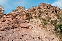 desert scenic near Petra in Jordan