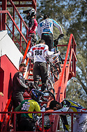 #164 (ISIDORE Quillan) GBR  at Round 9 of the 2019 UCI BMX Supercross World Cup in Santiago del Estero, Argentina