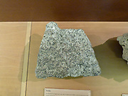 Granite - is a common and widely occurring type of intrusive, felsic and igneous rock.