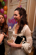 CELIA WEINSTOCK, Kate Reardon and Michael Roberts host a party to celebrate the launch of Vanity Fair on Couture. The Ballroom, Moet Hennessy, 13 Grosvenor Crescent. London. 27 October 2010. -DO NOT ARCHIVE-© Copyright Photograph by Dafydd Jones. 248 Clapham Rd. London SW9 0PZ. Tel 0207 820 0771. www.dafjones.com.