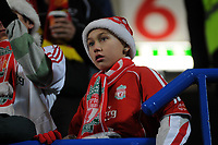 Photo: Tony Oudot/Sportsbeat Images.<br /> Chelsea v Liverpool. Carling Cup, Quarter Final. 19/12/2007.<br /> Dejected Liverpool fans