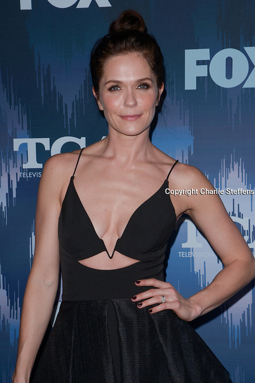 KATIE ASELTON at the Fox Winter TCA 2017 All-Star Party at the Langham Hotel in Pasadena, California