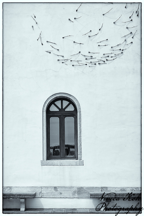 Window and wall sculpture