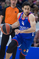 Anadolu Efes Dogus Balbay during Turkish Airlines Euroleague match between Real Madrid and Anadolu Efes at Wizink Center in Madrid, Spain. January 25, 2018. (ALTERPHOTOS/Borja B.Hojas)