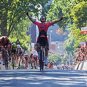 29-06-2019: Wielrennen: NK weg vrouwen: Ede  finish 1. Lorena Wiebes, Parkhotel cycling team, 2. Marianne Vos, CCC-Liv team, 3. Amy Pieters, Boels Dolmans Cyclingteam, 4. Annemiek van VLeuten, Mitchelton Scott team, 5. Ellen van Dijk, Trek Segrado