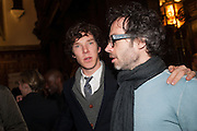 BENEDICT CUMBERBATCH; JAMES RHODES, The Almeida Theatre  celebrates Mike Attenborough's 11 brilliant years as Artistic Director. Middle Temple Hall,<br /> Middle Temple Lane, London, EC4Y 9AT