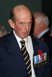 The Duke of Kent arrives for the annual Royal British Legion Festival of Remembrance at the Royal Albert Hall in London, which commemorates and honours all those who have lost their lives in conflicts.