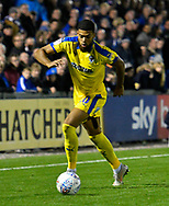Jake Jervis (10) of AFC Wimbledon during the EFL Sky Bet League 1 match between Bristol Rovers and AFC Wimbledon at the Memorial Stadium, Bristol, England on 23 October 2018.