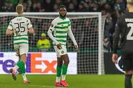 *** during the Europa League match between Celtic and FC Copenhagen at Celtic Park, Glasgow, Scotland on 27 February 2020.