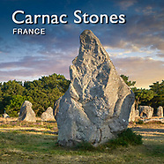The Carnac Stones - Neolithic Prehistoric Standing Stones - Pictures Images & Photos