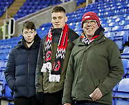 Sheffield Utd fans for star fans feature during the FA Cup match at the Madejski Stadium, Reading. Picture date: 3rd March 2020. Picture credit should read: Simon Bellis/Sportimage