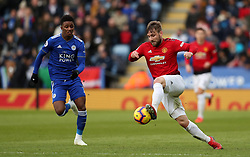 Manchester United's Luke Shaw in action
