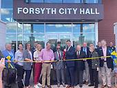 September 25, 2021 - GA: Governor Brian Kemp Celebrates Dedication of Forsyth New City Hall