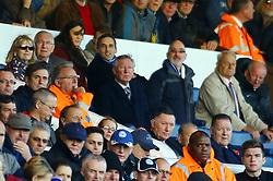 Sir Alex Ferguson in the stands at London Road - Photo mandatory by-line: Joe Dent/JMP - Tel: Mobile: 07966 386802 02/11/2013 - SPORT - FOOTBALL - London Road Stadium - Peterborough - Peterborough United v Leyton Orient - Sky Bet League One