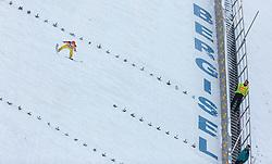 03.01.2016, Bergisel Schanze, Innsbruck, AUT, FIS Weltcup Ski Sprung, Vierschanzentournee, Bewerb, im Bild Richard Freitag (GER) // Richard Freitag of Germany during his Competition Jump of Four Hills Tournament of FIS Ski Jumping World Cup at the Bergisel Schanze, Innsbruck, Austria on 2016/01/03. EXPA Pictures © 2016, PhotoCredit: EXPA/ JFK