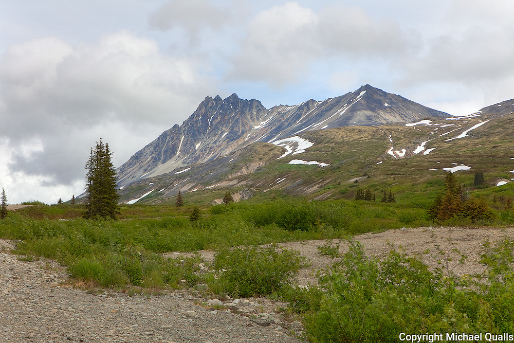 Chilkat Pass between Haines, AK and Haines Junction, YK.
