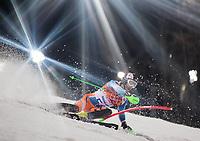Alpint<br /> OL Sochi 2014<br /> 22.02.2014<br /> Foto: imago/Digitalsport<br /> NORWAY ONLY<br /> <br /> Rosa Khutor Alpine Resort, Krasnaya Polyana, RUS, Sochi / Sotschi , 2014, Slalom, Herren, 2. Durchgang, im Bild Sebastian-Foss Solevaag (NOR) // Sebastian-Foss Solevaag of Norway in action during the 2nd run of mens Slalom to the Olympic Winter Games Sochi / Sotschi 2014 at the Rosa Khutor Alpine Resort, Krasnaya Polyana, Russia