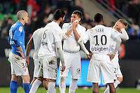 DECEPTION METZ  - 07.03.2015 -  Rennes / Metz -  28eme journee de Ligue 1 <br /> Photo : Vincent Michel / Icon Sport<br /> <br />   *** Local Caption ***