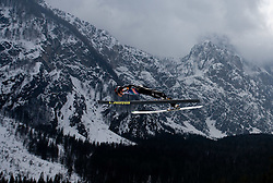 DAMJAN Jernej, SSK Ilirija, SLO    competes during Flying Hill Team First Round at 4th day of FIS Ski Flying World Championships Planica 2010, on March 21, 2010, Planica, Slovenia.  (Photo by Vid Ponikvar / Sportida)