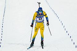 March 9, 2019 - –Stersund, Sweden - 190309 Sebastian Samuelsson of Sweden competes in the Men's 10 KM sprint during the IBU World Championships Biathlon on March 9, 2019 in Östersund..Photo: Johan Axelsson / BILDBYRÃ…N / Cop 245 (Credit Image: © Johan Axelsson/Bildbyran via ZUMA Press)