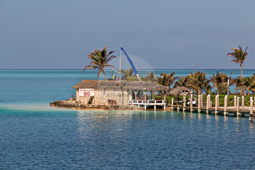 Home along the north point of Eleuthera Island, The Bahamas.