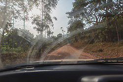 Driving on Dirt Road