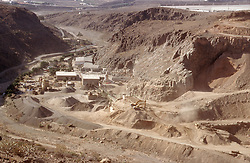 Quarry in Gran Canaria; Canary Islands Spain,
