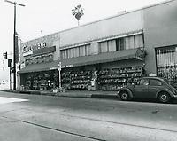 1977 Columbia Drug Store on the SE corner of Sunset Blvd. & Gower St.