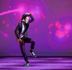BBC Young Dancer 2015 <br /> at Sadler's Wells, London, Great Britain <br /> 8th May 2015 <br /> <br /> Grand Final <br /> TX Saturday 7pm on 9th May 2015 <br /> <br /> Archie Sullivan - Ballet <br /> <br /> Connor Scott - Contemporary <br /> <br /> Kieran Lai - Hip Hop <br /> <br /> Vidya Patel - South Asian <br /> <br /> Jacob O'Connell - Contemporary <br /> <br /> Harry Barnes - Hip Hop <br /> <br /> Photograph by Elliott Franks <br /> Image licensed to Elliott Franks Photography Services