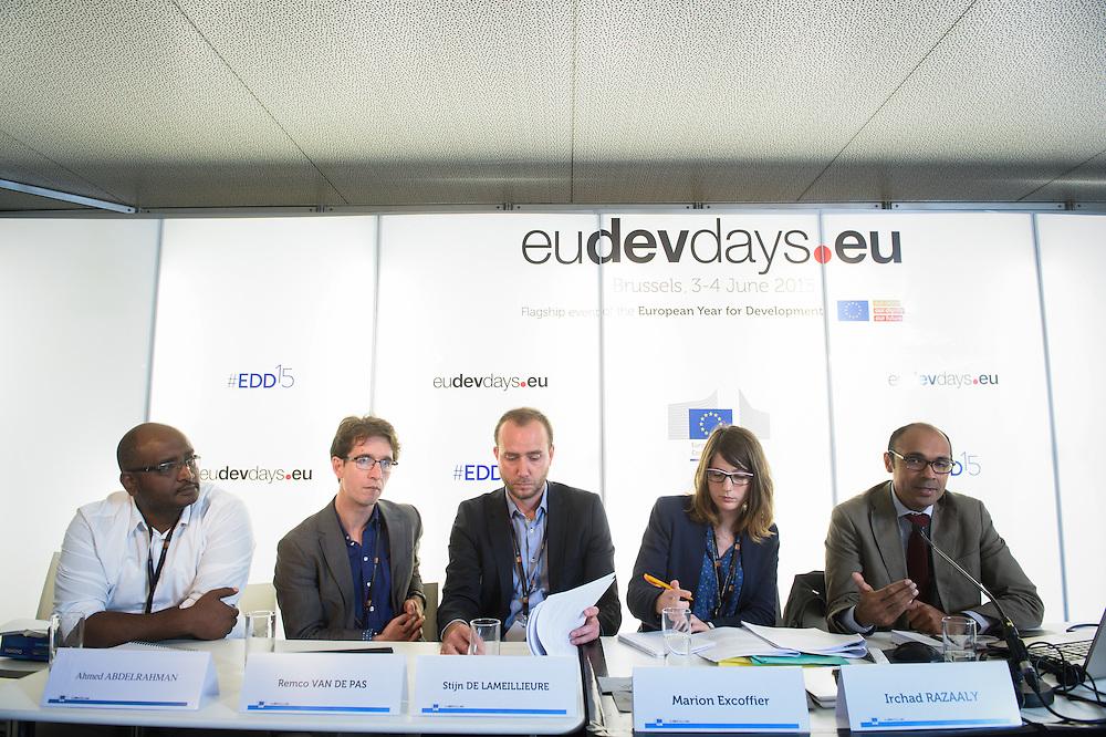 03 June 2015 - Belgium - Brussels - European Development Days - EDD - Health - Bekou - Restoring basic health services in the Central African Republic after the crisis © European Union