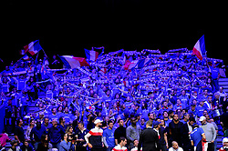 November 23, 2018 - Lille, France - Finale Coupe Davis 2018 - supporters France (Credit Image: © Panoramic via ZUMA Press)