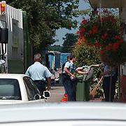 Inval hennepkwekerij Nieuw Loosdrechtsedijk 178 Loosdrecht, afvoer wiet