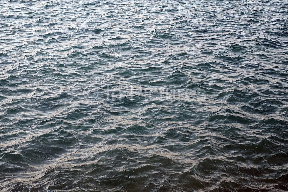 Close up of the sea at Shoalstone beach in Brixham on 27 July 2017, Devon, United Kingdom