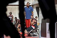 Nicolas Batum - 30.06.2015 - Lillard Take On Paris<br />Photo : Andre Ferreira / Icon Sport