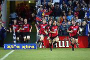 8th March 2003, North Harobur Stadium, Auckland, New Zealand. Super 12 Rugby Union, Blues v  Crusaders.<br />Mark Hammett and Greg Feek.<br />The Blues won the match 39 - 5.<br />Pic: Brett O'Callaghan/Photosport