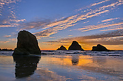 Three Arch Rocks, Oceanside, Oregon.