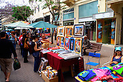 The weekly Tel Aviv arts and crafts fair, Nachlat Binyamin, Israel