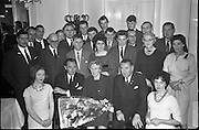 Kenny's Admin Dinner..1961..29.11.1961..11.29.1961..29th November 1961..Image taken at The Gresham Hotel, O'Connell Street, Dublin..We do not possess the caption sheet for this image. If you know the people involved why not let us know at irishphotoarchive@gmail.com and will add their names to the image.