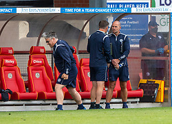 31JUL21 Partick Thistle's manager Ian McCall at the end. Partick Thistle 3 v 2 Queen of the South. First Scottish Championship game of the season.