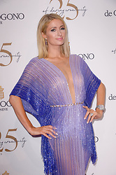 Paris Hilton attending the DeGrisogono party during the 71st Cannes Film Festival in Antibes, France, on May 15, 2018. Photo by Julien Reynaud/APS-Medias/ABACAPRESS.COM