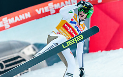 03.01.2016, Bergisel Schanze, Innsbruck, AUT, FIS Weltcup Ski Sprung, Vierschanzentournee, Bewerb, im Bild // reacts after his Competition Jump of Four Hills Tournament of FIS Ski Jumping World Cup at the Bergisel Schanze, Innsbruck, Austria on 2016/01/03. EXPA Pictures © 2016, PhotoCredit: EXPA/ JFK