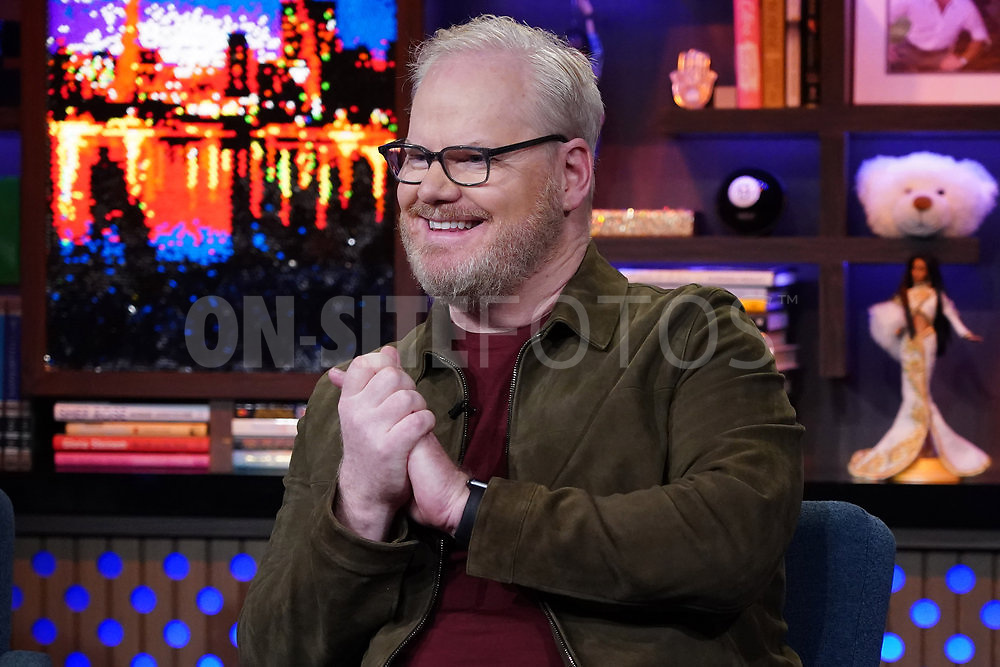 WATCH WHAT HAPPENS LIVE WITH ANDY COHEN -- Episode 18162 -- Pictured: Jim Gaffigan -- (Photo by: Charles Sykes/Bravo)