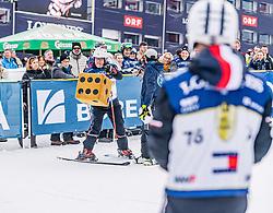 25.01.2020, Streif, Kitzbühel, AUT, FIS Weltcup Ski Alpin, im Rahmen der KitzCharityTrophy 2020 am Samstag, 25. Jänner 2020, auf der Streif in Kitzbühel. // Gerry Friedle during the KitzCharityTrophy 2020 at the Streif in Kitzbühel, Austria on 2020/01/25, im Bild Gerry Friedle // Gerry Friedle during the KitzCharityTrophy 2020 at the Streif in Kitzbühel, Austria on 2020/01/25. EXPA Pictures © 2020, PhotoCredit: EXPA/ Stefan Adelsberger