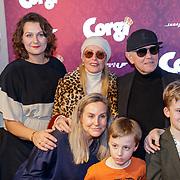 NLD/Amsterdam/20190210- première Corgi,, Bridget Maasland en familie,  ouders , Frits Maasland + Elly