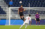 13 December 2015: Stanford's Brian Nana-Sinkam. The Clemson University Tigers played the Stanford University Cardinal at Sporting Park in Kansas City, Kansas in the 2015 NCAA Division I Men's College Cup championship match. Stanford won the game 4-0.