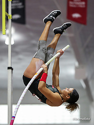 Razorback Invitational<br /> Indoor college track & field meet<br /> Kayla Smith, Georgia, pole vault 4.35