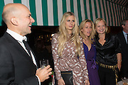 MARC QUINN; LAURA BAILEY; GILLIAN ANDERSON; MARIELA FROSTRUP, Charles Finch and  Jay Jopling host dinner in celebration of Frieze Art Fair at the Birley Group's Harry's Bar. London. 10 October 2012.