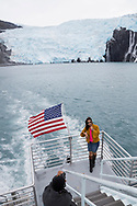 On board the Glacier Quest Cruise offered by Phillips Cruises and Tours in Prince William Sound, Alaska<br /> <br /> Photographer: Christina Sjögren<br /> <br /> Copyright 2019, All Rights Reserved