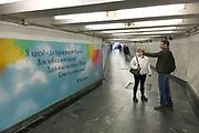Moskou is de hoofdstad en met afstand de grootste stad van Rusland, voorheen van de Sovjet-Unie./// Moscow is the capital and by far the largest city of Russia, formerly the Soviet Union.<br /> <br /> Op de foto: <br />  Metro / Subway Prive