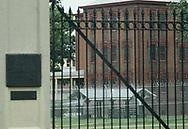 Washington, DC 1982/07/01 St. Elizabeth mental hospital,<br />Photo by Dennis Brack